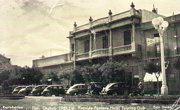 Touring Club Hotel - History